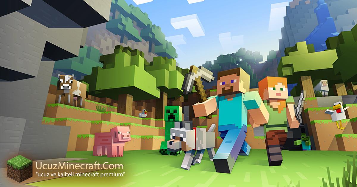 Tüm Sürümlerde Oynanabilen Minecraft Premium
