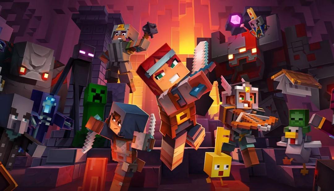 Ucuz Minecraft Dungeons